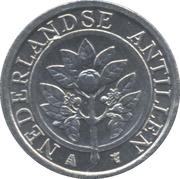 1 cent - Beatrix – avers