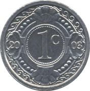 1 cent - Beatrix – revers