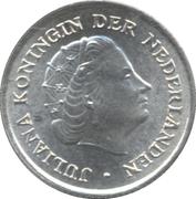 1/10 gulden - Juliana -  avers