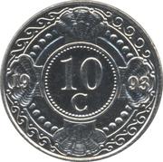 10 cents - Beatrix – revers
