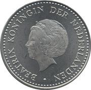 2½ gulden - Beatrix – avers
