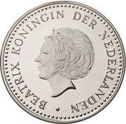 25 gulden - Beatrix (Premier vol Amsterdam-Curaçao) – avers