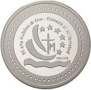 5 gulden - Beatrix (50e anniversaire de l'évêché de Willemstad) – avers