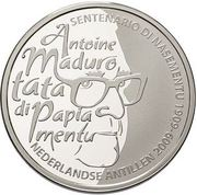 5 gulden - Beatrix (Centenaire d'Antoine Maduro) – revers