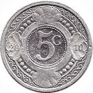 5 cents - Beatrix – revers