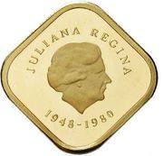 300 gulden - Juliana (Abdication) – avers