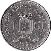 1 gulden - Beatrix – revers