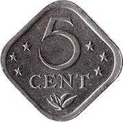 5 cents - Juliana -  revers