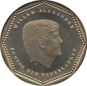 2½ gulden - Willem-Alexander – avers
