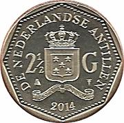 2½ gulden - Willem-Alexander – revers
