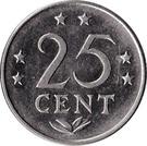 25 cents - Juliana – revers
