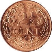 2½ cents - Juliana -  revers