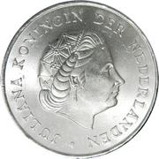 2½ gulden - Juliana – avers