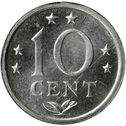 10 cents - Juliana -  revers