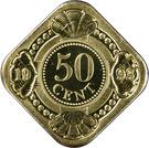 50 cents - Beatrix – revers