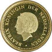 1 gulden - Beatrix -  avers