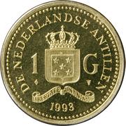 1 gulden - Beatrix -  revers
