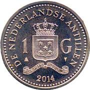 1 gulden - Willem-Alexander – revers