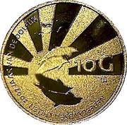 10 gulden - Beatrix (Année du dauphin) – revers