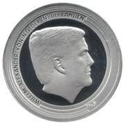 5 gulden (190e anniversaire de la Banque centrale) – avers
