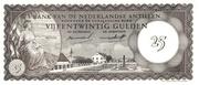 25 Gulden – avers
