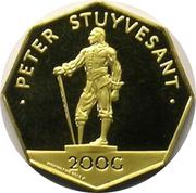 200 gulden - Juliana (Peter Stuyvesant) – revers