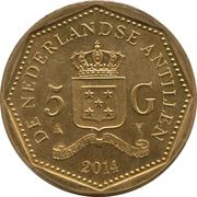 5 gulden - Willem-Alexander – revers