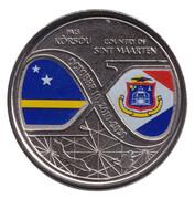 5 gulden (10 ans de réformes structurelles) – avers