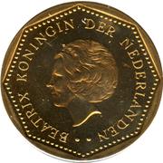 5 gulden - Beatrix – avers