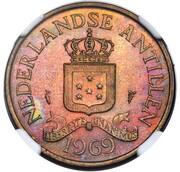 2½ Cents - Juliana (Pattern) – avers