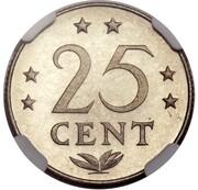 25 Cents - Juliana (Pattern) – revers