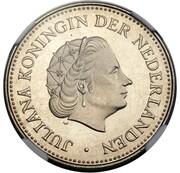 1 Gulden - Juliana (Pattern) – avers