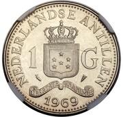 1 Gulden - Juliana (Pattern) – revers
