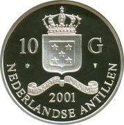 10 Gulden - Beatrix / Gold  Trade Coins: Sulla Aureus – avers