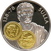 10 Gulden - Beatrix / Gold  Trade Coins: Sulla Aureus – revers