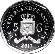 5 Gulden - 150 year Red Cross – avers