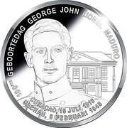 5 Gulden - George Maduro – avers