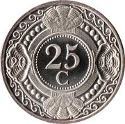 25 cents - Beatrix – revers