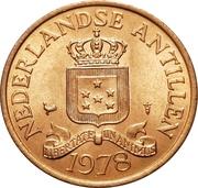 2½ cents - Juliana – avers