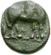 Bronze Æ8 (Antissa) – avers