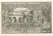 20 Heller (Anzbach) – avers