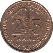 25 francs Togo -  avers