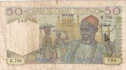 50 francs AOF – avers