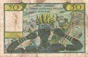 50 francs AOF et Togo -  revers