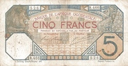 5 Francs (without branch name) – avers