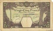 25 Francs (Grand-Bassam) – avers