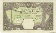25 Francs (Dakar) – avers