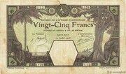 25 Francs (Porto-Novo) – avers