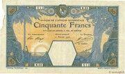 50 Francs (Grand-Bassam) – avers