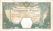 50 Francs (Saint-Louis) – avers